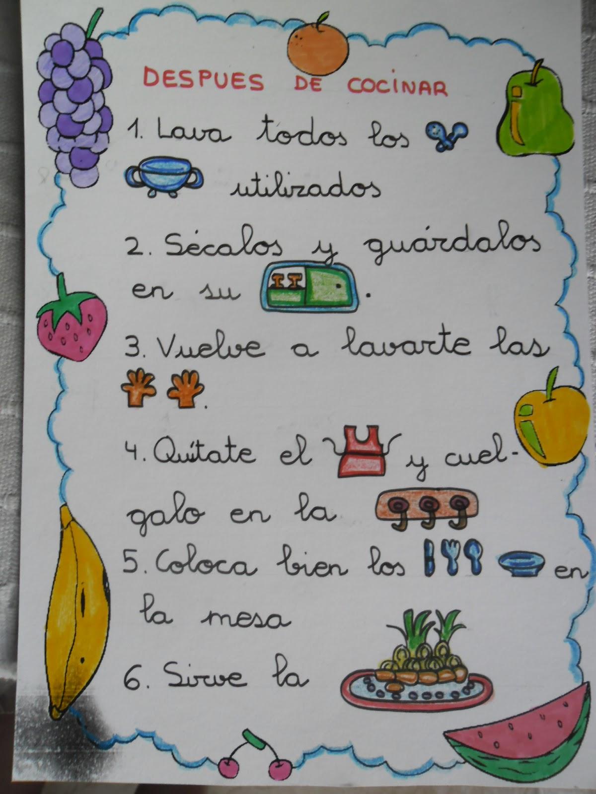Recursos de educaci n infantil libro de recetas for Para desarrollar una entrada practica