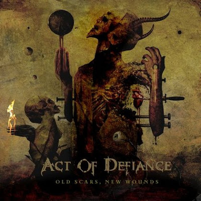 "Act of Defiance - ""M.I.A."" (video) from the album ""Old Scars, New Wounds"""
