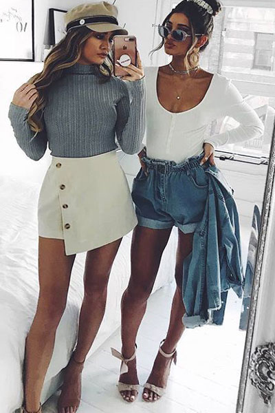 Knit in Grey | 19 Perfect Fall Outfits You Will Want to Copy This Year