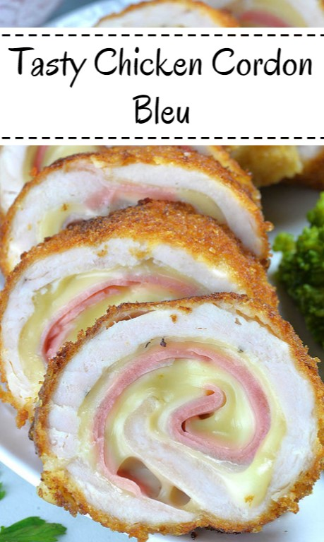 Tasty Chicken Cordon Bleu