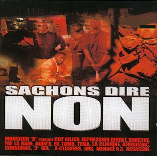 VA - Sachons Dire Non Vol. 1-4 (1998-2008)