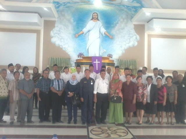 Suleman Kunjungi Umat Muslim, Kristen dan Katolik di Kepulauan Talaud