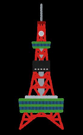 さっぽろテレビ塔のイラスト