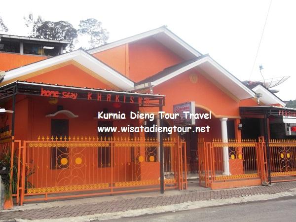 gambar rumah homestay kharisma dieng plateau
