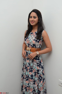 Miya George Looks Stunning in a Sleeveless Flower Print Gown at Yaman Movie Audio Launch Event Feb 2017 109.JPG