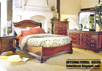 classic American bedroom furniture designs, classic bedroom style