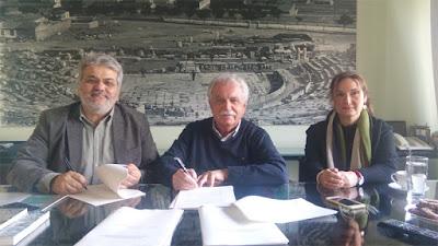 Υπογράφτηκε η σύμβαση για την Πολιτιστική Διαδρομή στα Αρχαία Θέατρα της Ηπείρου