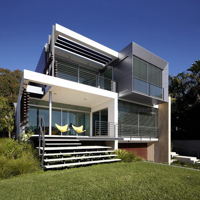 ไอเดียการออกแบบระเบียงหลังบ้าน