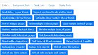 Abbandonare gruppi Facebook e Pagine insieme in una volta