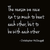 The reason we race - Christopher McDougall