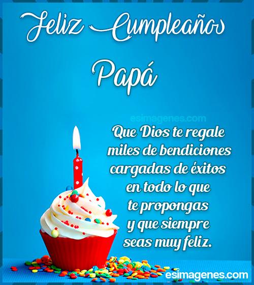 Tarjeta de Feliz Cumpleaños Papá
