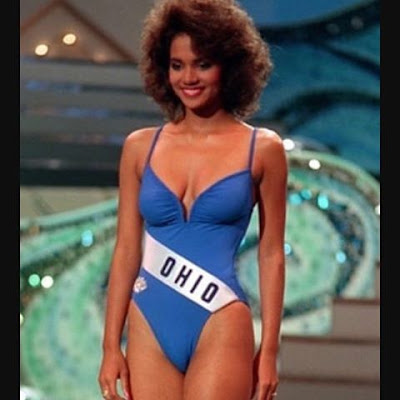Miss Ohio- Halle Berry,