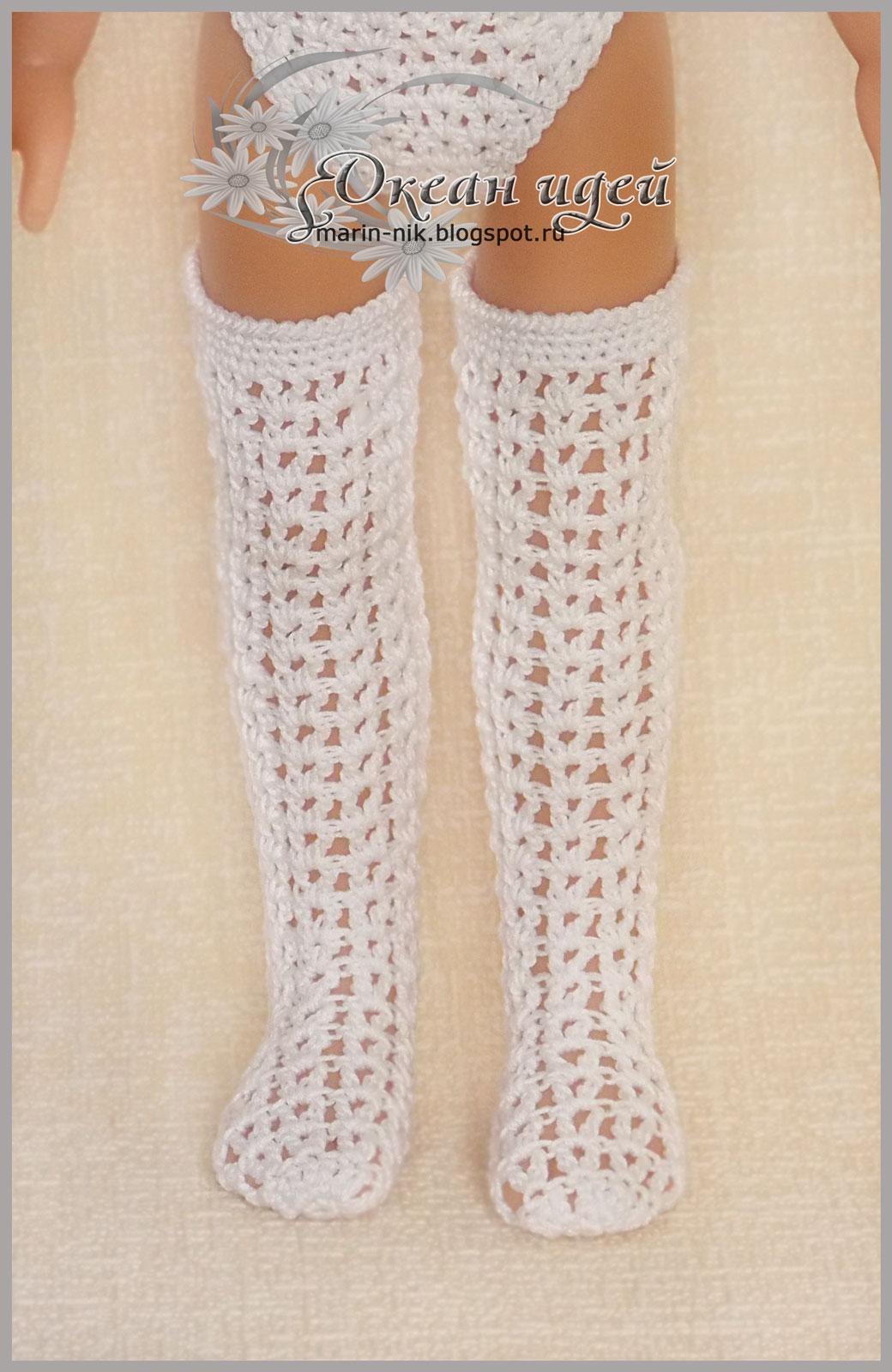 b0d802d80f68d Ателье Прикид: Чулки, высокие гольфы, гольфы, носки для куклы Паола ...