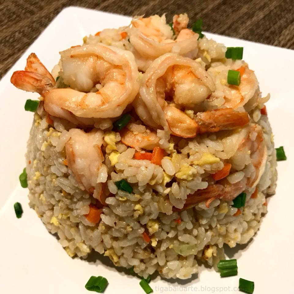 Casa baluarte filipino recipes shrimp fried rice shrimp fried rice is one of my favorite easy to make rice dish is it a basic fried rice loaded with shrimp so no need to have other dish as this one ccuart Choice Image