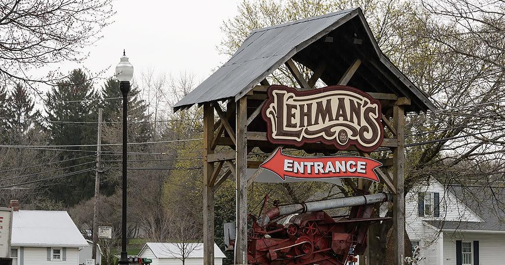 Bubba S Garage Shopping At Lehman S In Kidron Ohio
