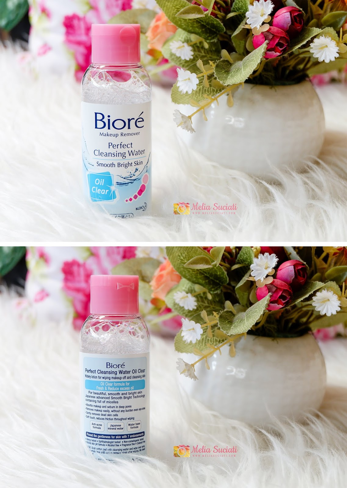 Harga Biore Perfect Cleansing Water Oil Clear
