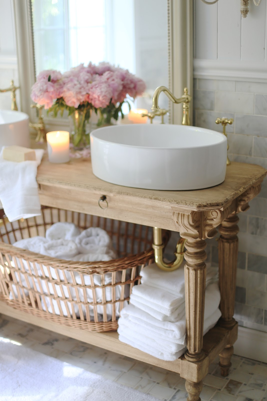 French Cottage Bathroom  Favorites in 2017  FRENCH COUNTRY COTTAGE