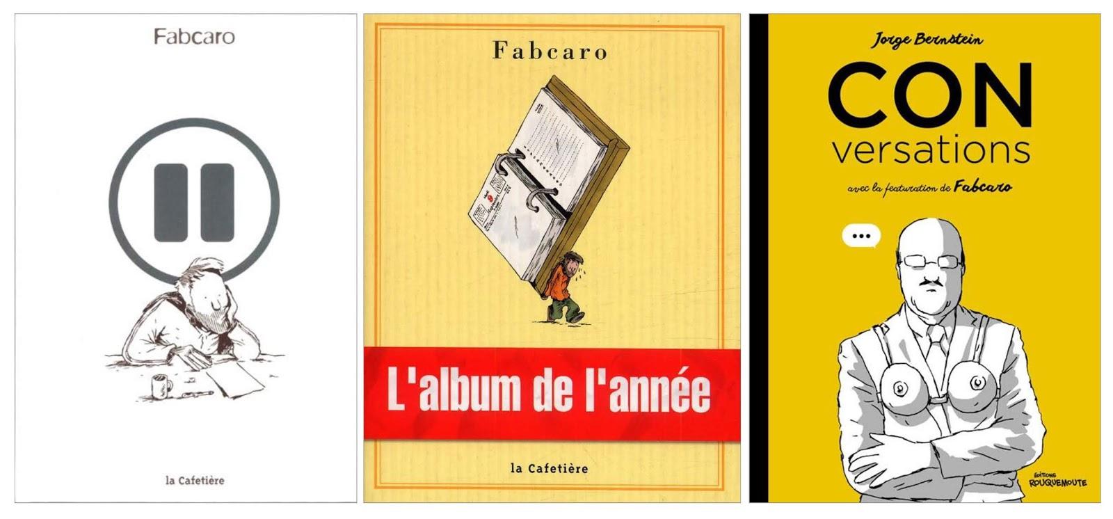 Bernstein Salle De Bain pause, l'album de l'année, fabcaro - conversations, jorge