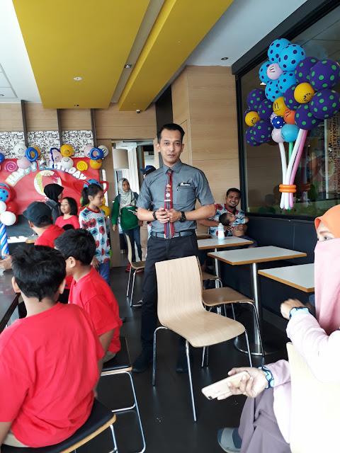 Pengurus Besar McDonald's Meru Raya : Buktikan Pelajar Lepasan SPM Mampu Berjaya
