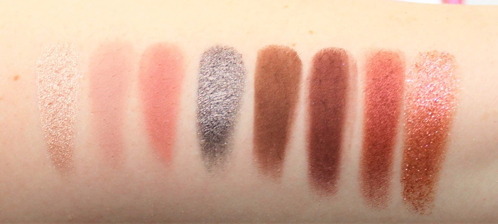 Shortcut Palette swatches