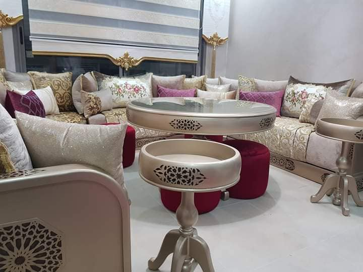 salon orientale moderne marocain 2019 - decorationmarocains