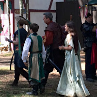 Family in Costume at King Richard's Faire Carver MA_New England Fall Events
