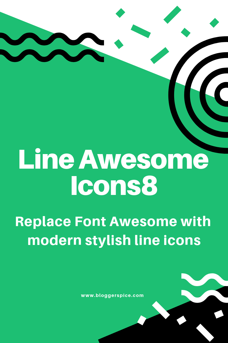 Line Awesome - Icons8