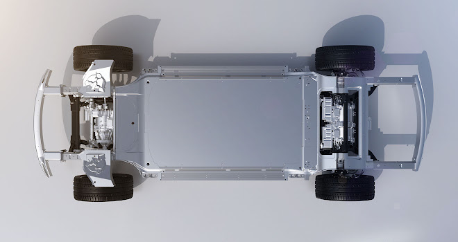 Faraday Future FF 91 chassis