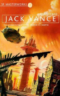 Cover image of the novel Emphyrio by Jack Vance
