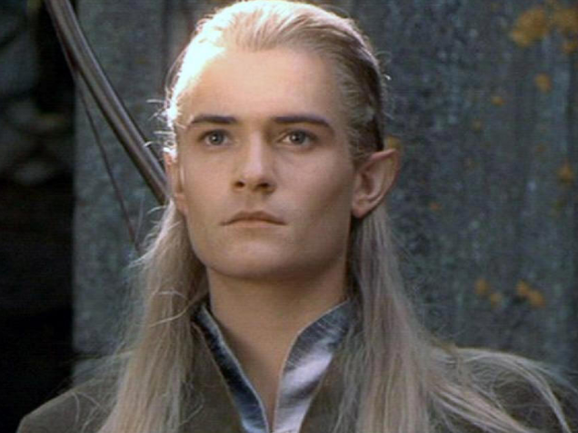 Orlando Bloom As Legolas Greenleaf Classic Ramblin...
