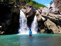Pesona Air Terjun Dewi Selendang Sembalun Lombok
