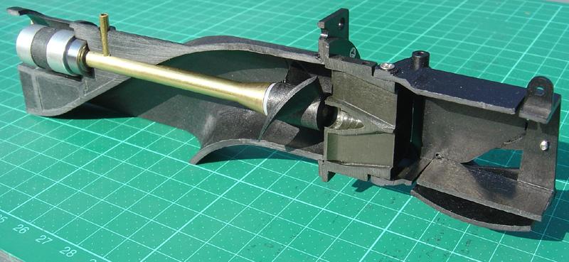 Impeller Jet Cross Ski Blade Section