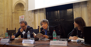 Video della presentazione del libro di Camilla Peruch in presenza del Segretario Generale della Dante, Alessandro Masi; e della scritrrice Dacia Maraini