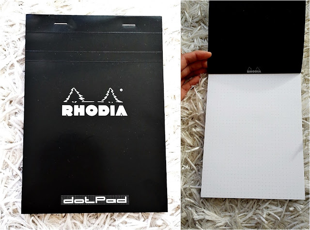 Rhodia dotpad - eco-friendly alternative to notebook - PEFC certified