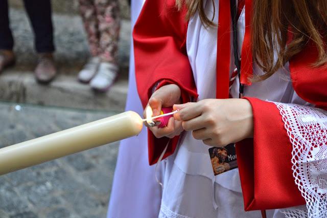 Wielkanocne procesje Semana Santa w Granadzie