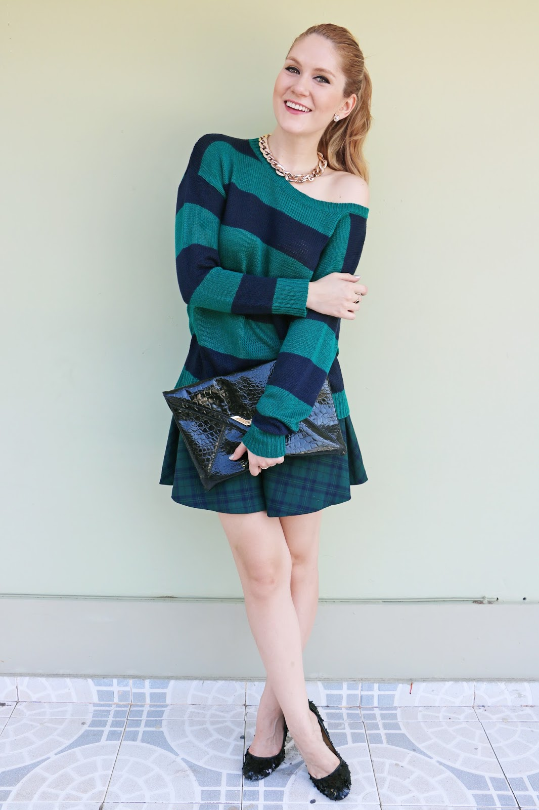 Cute plaid outfit for Fall!