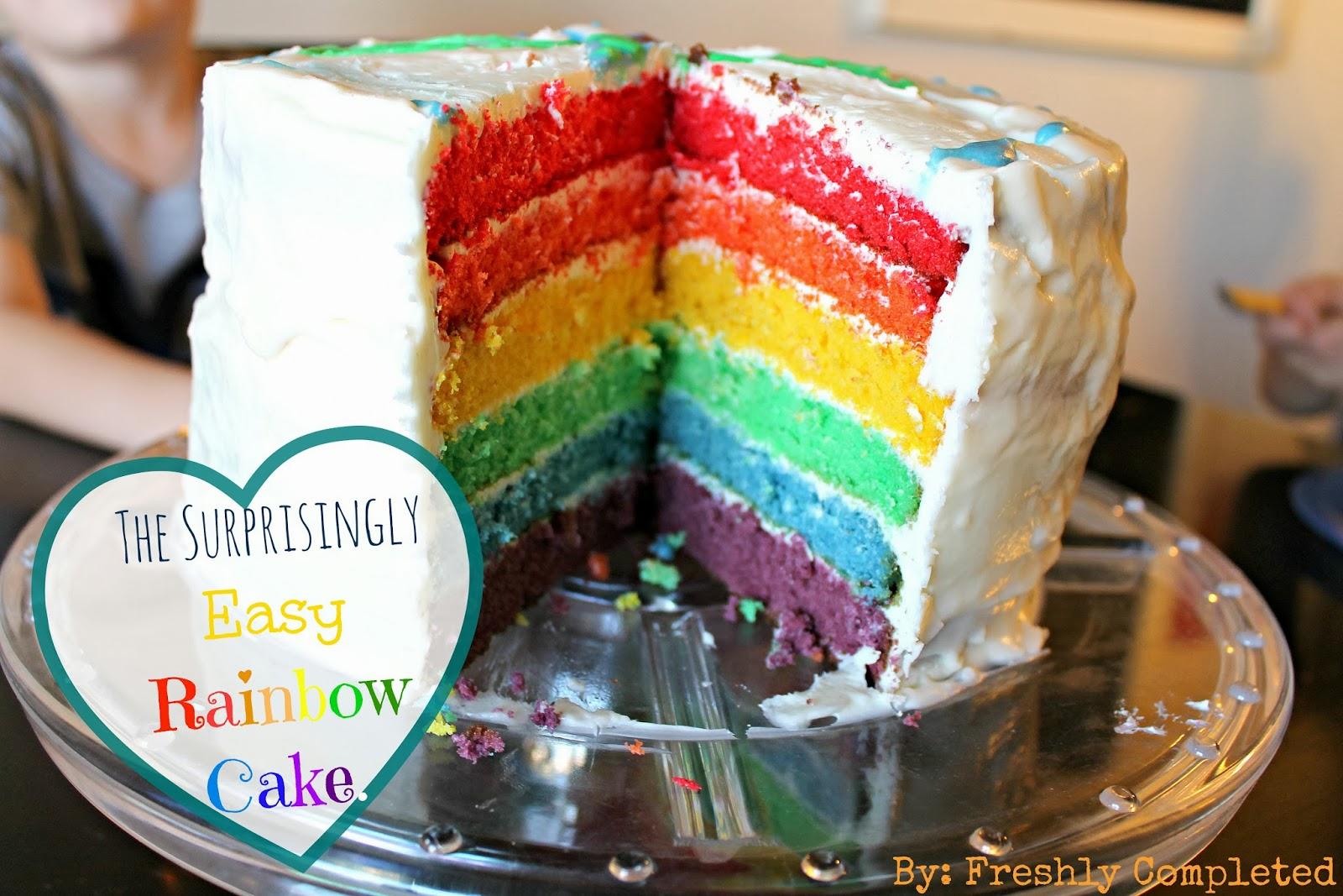 Betty Crocker Rainbow Chip Cake Mix Recipe