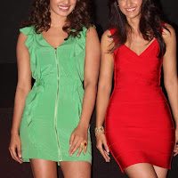 Priyanka Chopra and Ileana looks hot at Barfi trailer launch stills