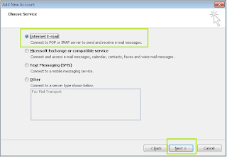 Cara Set Up POP dan SMTP di Outlook 2010 2