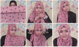 Tutorial Hijab Natasha Farani Dengan Gaya Casual Dan Kantoran