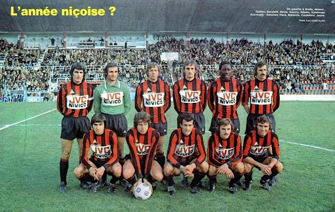 O.G.C NICE 1976-77. By Panini.