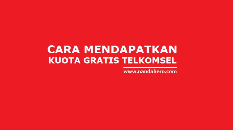 kuota gratis telkomsel 2018