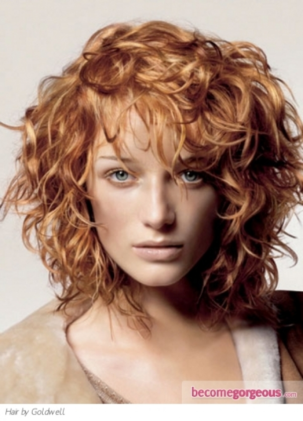Medium Curly Hairstyles 2016 Hair Color Ideas And Styles For 2018