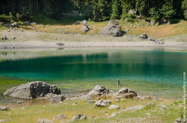 Visitar Lago di Carezza viaje Italia Dolomitas