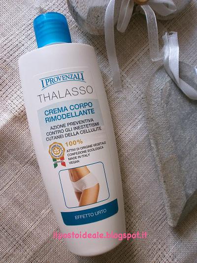 I Provenzali Thalasso crema corpo rimodellante