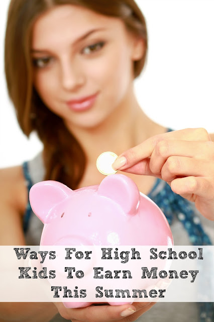 Teens love having a little spending money. Here are a few ways your high school child can make some extra spending money this summer.