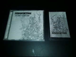 Anaksetan - Cyclonic Depression CD Tape Cassette