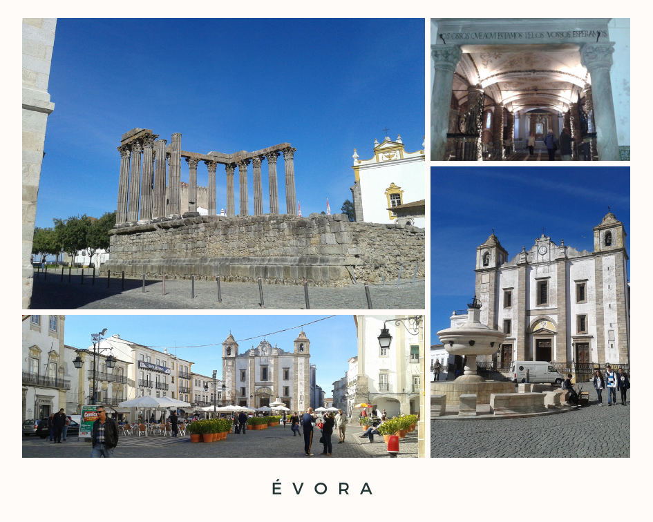 3 Places to visit - Évora Portugal