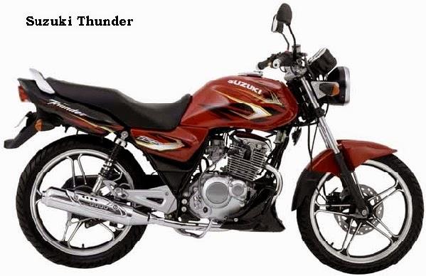 Harga Pasaran Motor Suzuki bekas