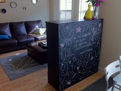 Besta Boas Chalkboard Room Divider - IKEA Hackers - IKEA ...